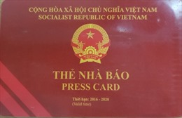 Quy định thẻ đảng viên, thẻ nhà báo không sử dụng để lên máy bay là nhầm lẫn