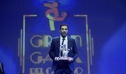 Gianluigi Buffon giành giải Cầu thủ xuất sắc nhất Serie A mùa giải 2016-2017