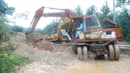 Quảng Nam khôi phục kết cấu hạ tầng giao thông sau mưa lũ