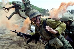 Xem thủy quân lục chiến Nga dũng mãnh trên thao trường