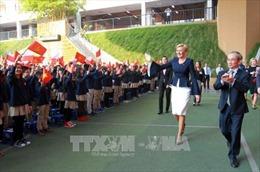 Phu nhân Tổng thống Ba Lan thăm Trường Marie Curie, Hà Nội