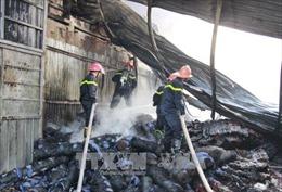 Hỏa hoạn thiêu rụi 6.000 m2 nhà xưởng tại Thái Nguyên