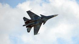 Su-30 Nga chặn máy bay do thám Mỹ tiến sát biên giới