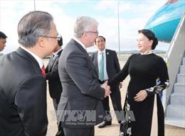 Chủ tịch Quốc hội Nguyễn Thị Kim Ngân bắt đầu thăm chính thức Australia