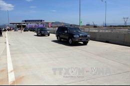 Đề nghị tạm dừng phục vụ xe container, xe tải trên tuyến cao tốc Đà Nẵng - Tam Kỳ