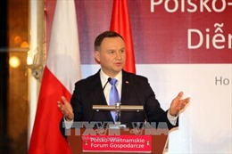 Tổng thống Ba Lan Andrzej Duda dự Diễn đàn kinh tế Việt Nam - Ba Lan