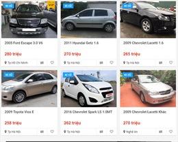Ô tô mới giảm giá mạnh, xe cũ giá rẻ vẫn kén khách