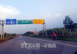 Thăng hàm Trung tá đối với cán bộ CSGT hy sinh trên cao tốc Hà Nội - Thái Nguyên