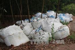 Bị phạt 250 triệu đồng do chôn lấp chất thải rắn công nghiệp trái quy định