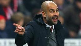 HLV Pep Guardiola nhanh chóng hướng tới trận derby với Manchester United