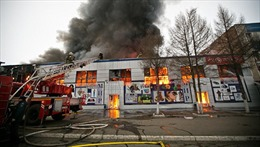 Kêu gọi giúp đỡ cộng đồng Việt trong vụ cháy chợ ở Orenburg, Nga