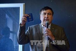 Ukraine cấm cựu Tổng thống Gruzia Saakashvili nhập cảnh