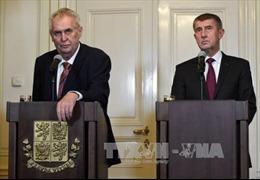 Tân Thủ tướng Séc tuyên thệ nhậm chức