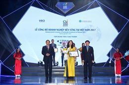 Phát triển bền vững, Tân Á Đại Thành nhận giải thưởng CSI 2017