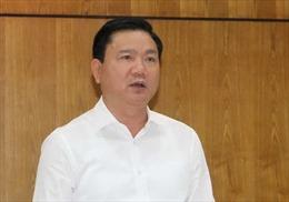 Đình chỉ sinh hoạt Đảng đối với ông Đinh La Thăng