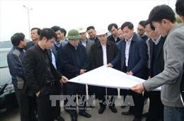 Bộ trưởng Bộ Giao thông vận tải kiểm tra 2 dự án trọng điểm tại Hưng Yên