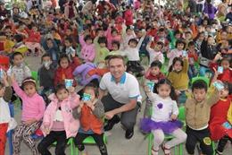 65.000 trẻ em và 250.000 hộ gia đình tiếp cận chương trình giáo dục dinh dưỡng và phát triển thể lực