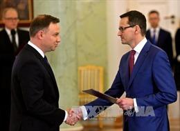 Tân Thủ tướng Ba Lan nhậm chức