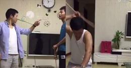 Xem clip dạy con của bố Trung Quốc khiến dân mạng ngả mũ