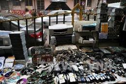Hàng chục triệu tấn rác thải điện tử bị vứt bỏ trên thế giới
