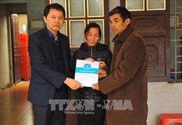 Thiết thực chia sẻ với gia đình phóng viên Đinh Hữu Dư