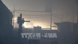 Cháy xưởng gỗ tại Bình Dương, 2 người tử vong