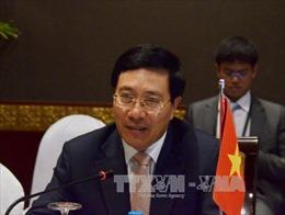 Hội nghị Bộ trưởng Ngoại giao Mekong - Lan Thương lần thứ ba tại Trung Quốc