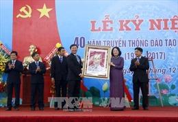 Phó Chủ tịch nước dự lễ kỷ niệm 40 năm truyền thống Trường Đại học Xây dựng Miền Tây