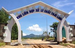 Bình Thuận đưa vào sử dụng Khu Liên hợp xử lý chất thải đầu tiên