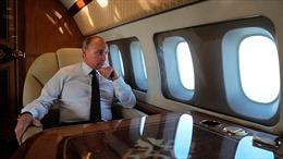 Đội Su-30 dựng 'bẫy nhiệt' bảo vệ Tổng thống Putin
