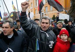 Biểu tình bùng phát thành bạo lực tại Kiev
