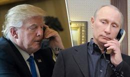 Tổng thống Putin bất ngờ gọi đến Trại David cảm ơn ông Trump