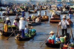 Chợ nổi Việt Nam lọt top điểm nghỉ đông lý tưởng nhất thế giới