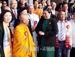 Phó Chủ tịch Quốc hội gặp mặt các đại biểu dân tộc thiểu số tiêu biểu