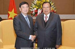 Tổng Bí thư, Chủ tịch nước Lào Bounnhang Vorachith tiếp Đoàn đại biểu Hội Hữu nghị Việt Nam – Lào