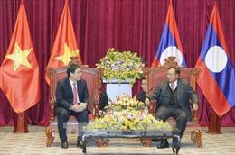 Tổng Bí thư, Chủ tịch nước Lào thăm quê hương Chủ tịch Hồ Chí Minh