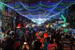 Sài Gòn lung linh trong mùa Giáng sinh