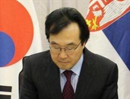 Quan chức Hàn Quốc tới Nhật Bản thảo luận về hạt nhân trên Bán đảo Triều Tiên