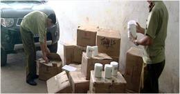 Tịch thu 700 hộp kem ủ tóc Oasis không rõ nguồn gốc