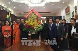 Chủ tịch Ủy ban Trung ương MTTQ Việt Nam thăm, chúc mừng Giáng sinh