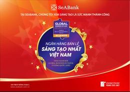 SeABank là 'Ngân hàng bán lẻ sáng tạo nhất Việt Nam'