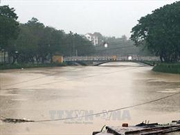 Bảo đảm an toàn công trình thủy lợi trước mưa lớn ở Trung bộ