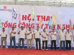 1.000 cán bộ Công ty Tín Nghĩa tham gia tranh tài 10 môn thể thao