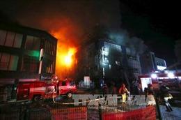 Cháy trung tâm thương mại ở Philippines, nhiều người bị thương và mất tích