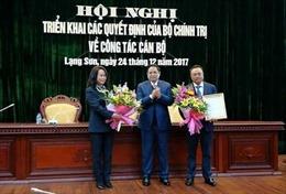 Đồng chí Lâm Thị Phương Thanh giữ chức Bí thư Tỉnh ủy Lạng Sơn