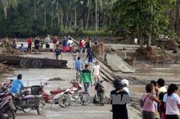 Philippines: Số người thiệt mạng, mất tích do bão Tembin tiếp tục tăng