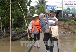 Ứng phó với bão số 16: Huy động lực lượng trực 24/24 giờ để kịp thời hỗ trợ người dân