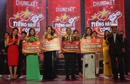 Hà Thanh Tùng đoạt giải Nhất 'Tiếng hát công nhân'