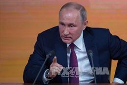 Tổng thống Nga cam kết tiếp tục cuộc chiến chống khủng bố