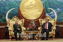 Tổng Bí thư, Chủ tịch nước Lào đánh giá cao đóng góp của quân tình nguyện Việt Nam